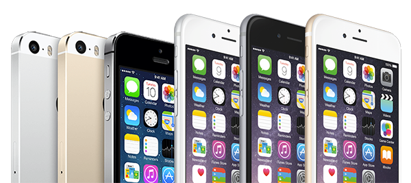 photo of various iphone mobile phones